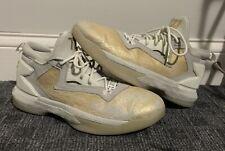 Adidas D Lillard 2 BHM Black History Dame Jesse Owens Gold AQ7959 Size 11.5