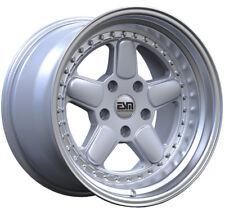 ESM-005R Silver 18x9.5 18x11 +22 BMW 5x120 BMW E39 5 series M5 528i 525i E60 E34