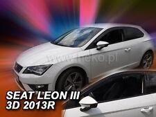 HEKO Windabweiser SEAT Leon III 3türig 2013--> 2teilig - 28255