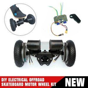 Offroad Skateboard Elektrisch Motor Räder satz 6374 Motor 8-Zoll-PUlley Räder