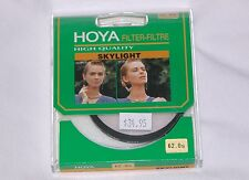 62mm Hoya Skylight Glass Lens Filter Japan Genuine New 62 mm 62-SK Camcorder