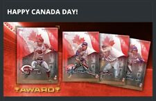Topps Bunt Canada Day 10 Card Set.     10 Cards