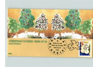 HOLIDAY COOKIES, Set of 4 First Day of Issue, 2005, Christmas
