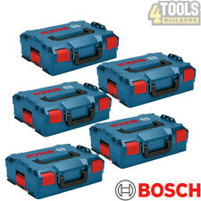 Bosch Sortimo L-BOXX 136 Storage System Stacking Case-1600A012G0 Pack Of 5