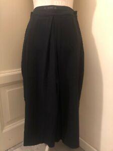 Gonna pantalone blu ZARA navy culottes M
