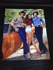 The Dukes of Hazzard cast piece signed 11x14 autographed photo Beckett A01281