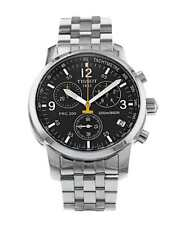 TISSOT T-Sport PRC 200 T17.1.586.52 BLACK Wristwatch T461 Chronograph Men's
