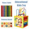 Baby Kids Montessori Early Educational Times Table Touch & Match Sensory UK G