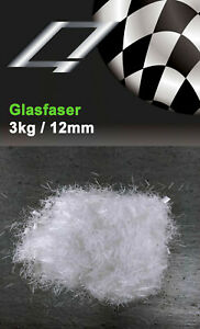 Glasfasern Estrichfaser_3kg_12mm_gegen Schwundrisse_Glasfasern_Verstärkung