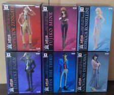 "Lupin the 3rd Master Stars Piece MSP Figure "" Lupin, Jigen, etc all of 6pcs """