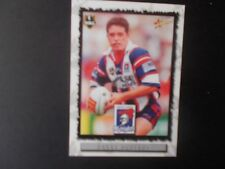 Newcastle Knights Danny Buderus Trading Card