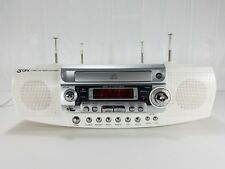 GPX Under Cabinet CD Player Alarm Clock Radio D835