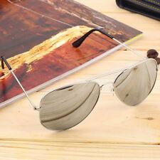 Elegant Men Women Summer Eyewear Reflective Mirror Lens Sports Sunglasses BE