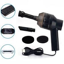 Portable Mini USB Vacuum Cleaner Laptop Computer Dust Handheld Blower Black