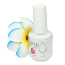 Nail Harmony Gelish UV Gel 1558 Make You Blink Pink 0.5oz