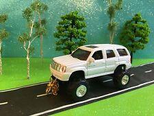 Cadillac Escalade, Custom G5 Lift Kit, Custom, Rubber Mud Pulling Tires, 1/64