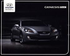 Hyundai Genesis Coupe 2011 brochure catalogue polonais rare