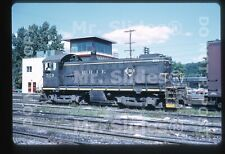 Original Slide Erie Railroad  ALCO S4 529 Meadville PA 1972