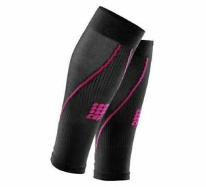 NEW CEP Women's Compression Calf Sleeves 2.0 (WS45K02) Size 2 (II) Black/Pink