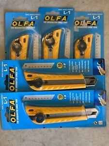 Olfa Snap Knives X 5 Bulk Buy