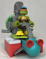 TMNT Nickelodeon Half Shell Heroes Sewer Cruiser Driver Mikey Michelangelo Mike