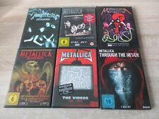 Metallica 9 DVD musik Sammlung Some Kind Of Monster + The Videos + ....