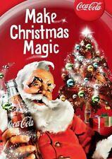 Vintage Coca Cola w/Santa Claus ad, #1, Flat Flexible Refrigerator Magnet