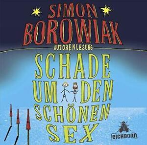 Simon Borowiak - Schade um den schönen Sex 3CD NEU OVP