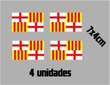 (1112)4 x bandera Tabarnia BARCELONA catalonia catalana vinilo adhesivo pegatina