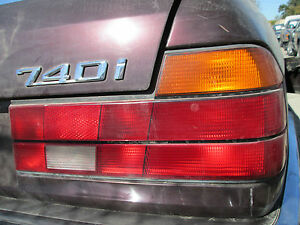 BMW E32 740i 735i RIGHT TAIL LIGHT 1987-88-89-1990-1991-92-93-94