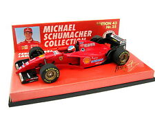 FERRARI f310 1996 Schumacher Launch EDITION NO. 25 ORO Letters 510964391 1/43