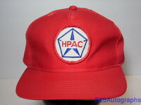 Vintage 1980s HPAC Advertising Star LOGO Snapback Patch Hat Cap