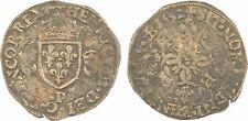 Henri II, douzain aux croissants, 1552 Dijon, argent - 75