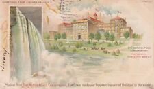 POSTCARD c1905 Natural Food Conservatory Shredded Wheat NIAGARA FALLS NY 12771