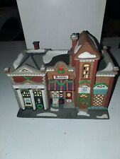 Department 56 Riverside Row Shops. Christmas in the City.