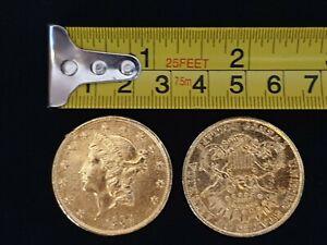 Sahara (2005) Pair of Gold Coins film props AFTAL COA