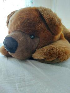 sigikid Bär, liegend, ca 90cm lang, Top Zustand, Liebhaberstück