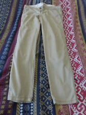 HOLLISTER BEIGE CHINOS SIZE 7R W28 UK 10