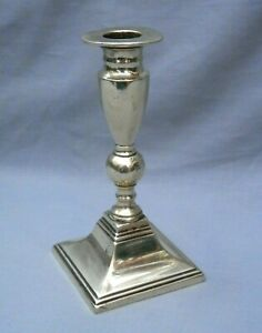 Solid Brass Candlestick (Height 14.5cm)