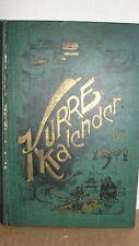 1901 SWEDISH BOOK - KURRE KALENDER ( COURIER CALENDAR)