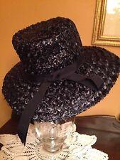 Vintage Ladies Hat Audrey Hepburn Style Millinery Valerie Modes Kentucky Derby