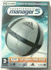 68852 - Championship Manager 5 [NEW / SEALED] - PC (2004) Windows XP