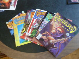 Grateful Dead Comix --- volume 1 issues 1-7 and volume 2 issues 1 & 2