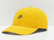 Primitive Skate Skateboards Cap Hat Camp Dad Strapback Mini Classic P Yellow