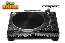 Skin Decal Sticker Wrap for Technics Quartz SL Turntable Pro Audio Mixer REAPR K