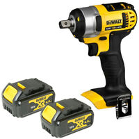 Dewalt DCF880N 18V XR Li-ion Compact Impact Wrench With 2 x 4.0Ah Batteries