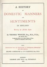 England Middle Ages History Domestic Manners Sentiments . Thomas Wright 1862