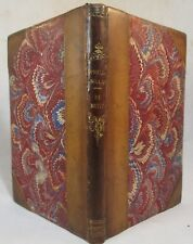 PHILOBIBLON, A TREATISE ON THE LOVE OF BOOKS, by Richard de Bury - 1832 Leather