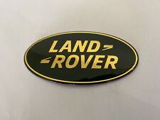 LAND RANGE ROVER SPORT LR3 TRUNK HOOD GRILL EMBLEM BADGE LOGO GREEN USA SELLER!