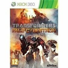 TRANSFORMERS FALL OF CYBERTRON Xbox 360 Microsoft XBOX360 UK Release New Sealed